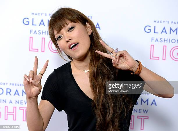 Actress Hana Mae Lee attends Glamorama 'Fashion in a New Light' benefiting AIDS Project Los Angeles presented by Macy's Passport at Orpheum Theatre...