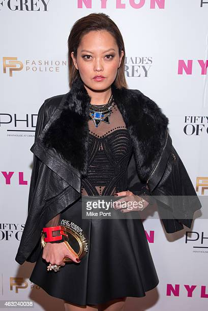 Actress Hana Mae Lee attends Nylon and Fashion Police's 'Fifty Shades Of Grey' Release Party at Dream Downtown on February 11 2015 in New York City