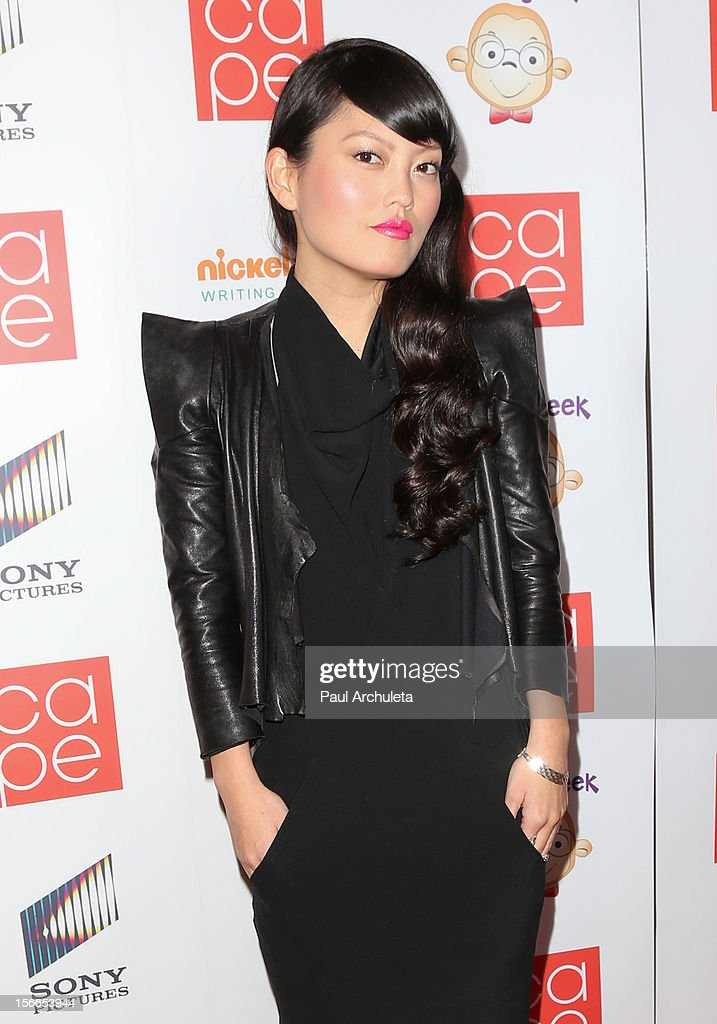 Actress Hana Mae Lee attends the 2012 CAPE Holiday Fundraiser 'I Am...All In' at the W Hollywood on November 17, 2012 in Hollywood, California.
