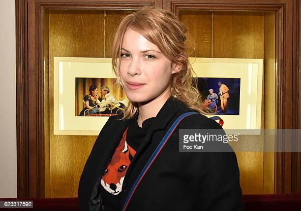 Actress Hande Kodja attends the Gala de L'Espoir 2016 at Theatre du Chatelet on November 14 2016 in Paris France