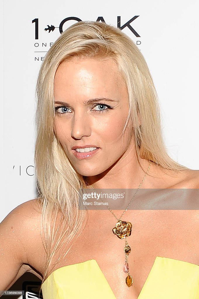 Actress Hannah Cornett attends the 2011 Tags 4 Lives 'It's A Star Thing' benefit at 1OAK on September 3, 2011 in New York City.