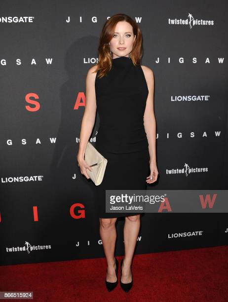 Actress Hannah Emily Anderson attends the premiere of 'Jigsaw' at ArcLight Hollywood on October 25 2017 in Hollywood California