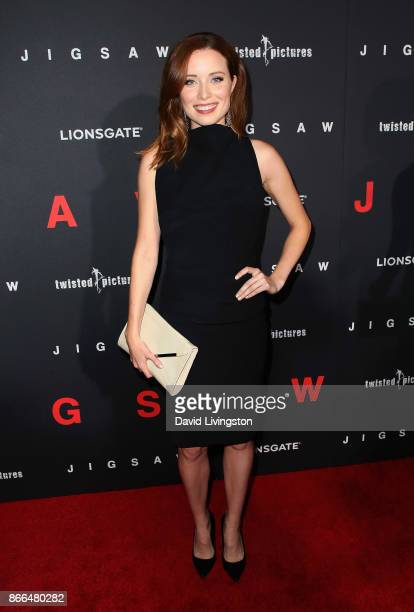 Actress Hannah Emily Anderson attends the premiere of Lionsgate's 'Jigsaw' at ArcLight Hollywood on October 25 2017 in Hollywood California