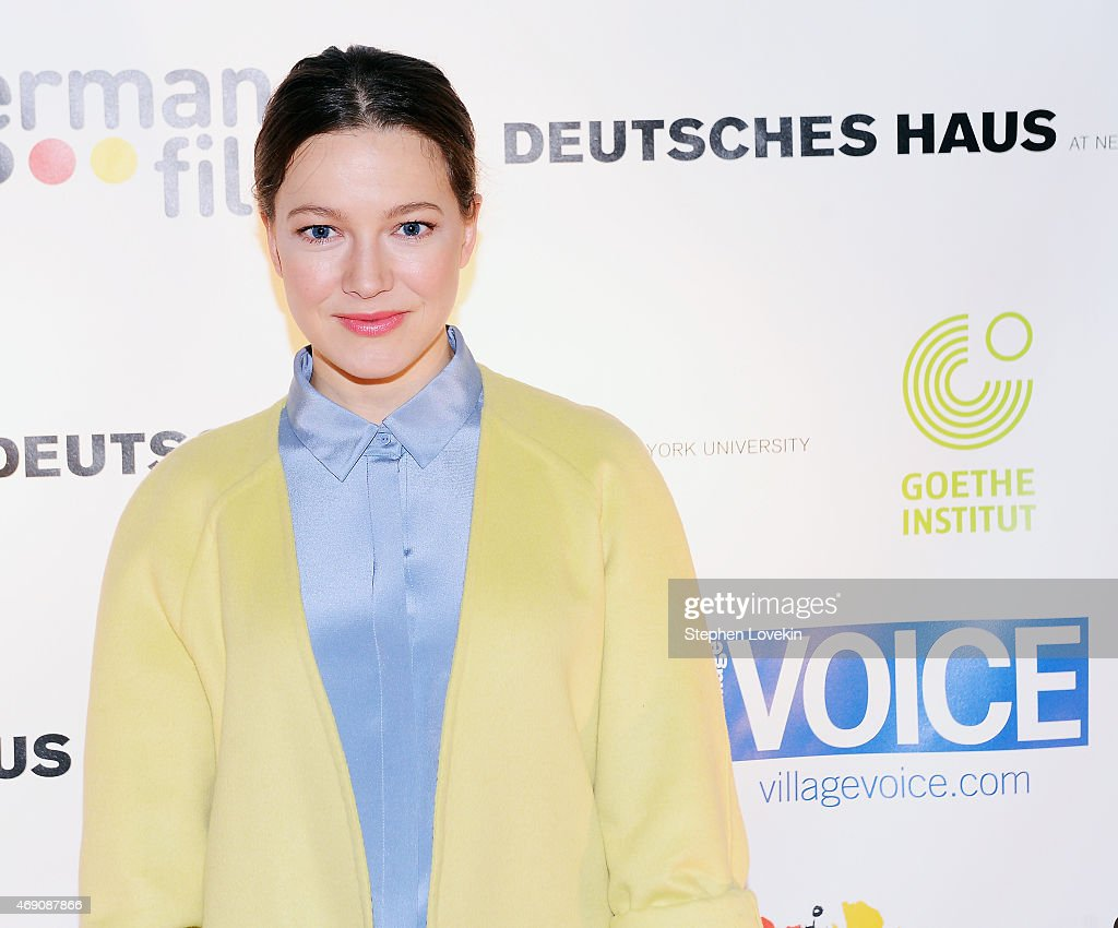 Actress Hannah Herzsprung attends the KINO New York Film Festival opening night at Tribeca Cinemas on April 9 2015 in New York City