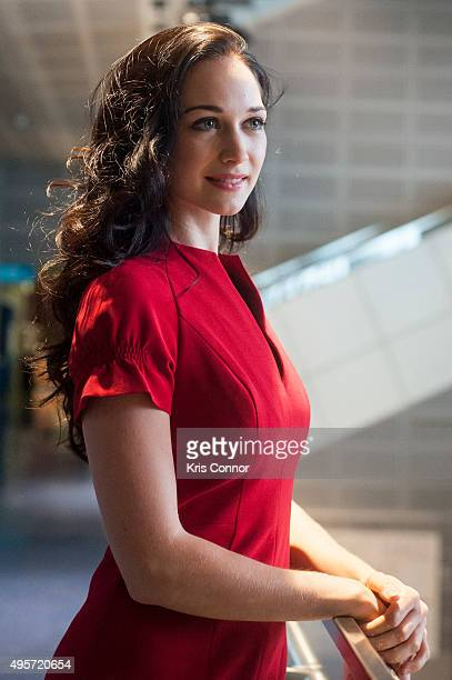 Actress Hannah James attends the DC premiere of PBS's 'Mercy Street' at the The Newseum in Washington DC on November 4 2015