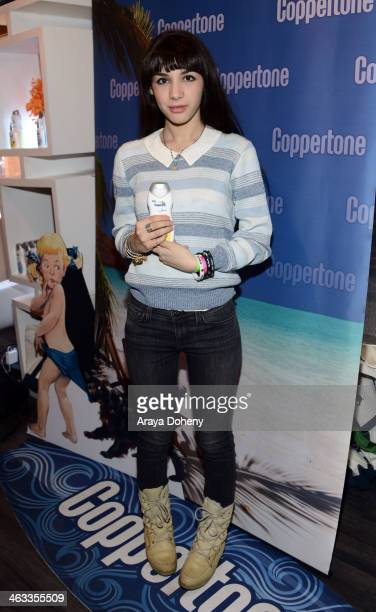 Actress Hannah Marks attends the Kari Feinstein Style Lounge on January 17 2014 in Park City Utah