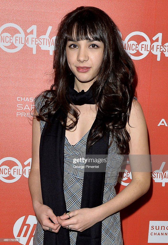 Actress <a gi-track='captionPersonalityLinkClicked' href=/galleries/search?phrase=Hannah+Marks&family=editorial&specificpeople=572461 ng-click='$event.stopPropagation()'>Hannah Marks</a> attends the premiere of 'The Dawn' at the Egyptian Theatre during the 2014 Sundance Film Festival on January 16, 2014 in Park City, Utah.