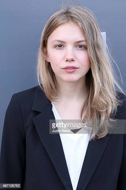 Actress Hannah Murray attends the Los Angeles Premiere of 'Lily Kat' at the Vista Theatre on March 20 2015 in Los Angeles California