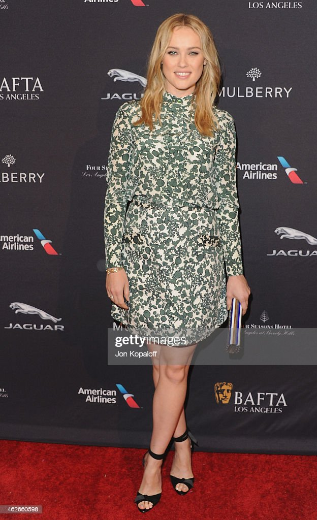 Actress <a gi-track='captionPersonalityLinkClicked' href=/galleries/search?phrase=Hannah+New&family=editorial&specificpeople=8671957 ng-click='$event.stopPropagation()'>Hannah New</a> arrives at the 2015 BAFTA Tea Party at The Four Seasons Hotel on January 10, 2015 in Beverly Hills, California.