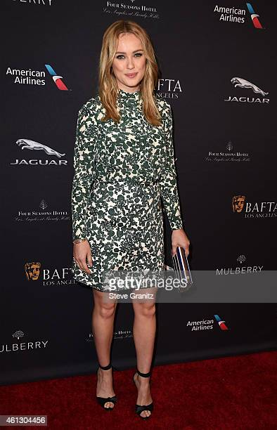 Actress Hannah New attends the 2015 BAFTA Tea Party at The Four Seasons Hotel on January 10 2015 in Beverly Hills California
