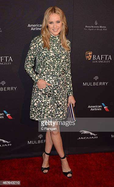 Actress Hannah New attends the BAFTA Los Angeles Tea Party at Four Seasons Hotel Los Angeles at Beverly Hills on January 10 2015 in Los Angeles...
