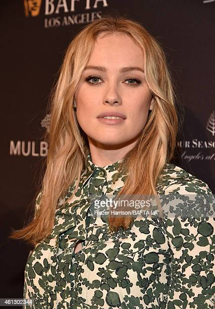 Actress Hannah New attends the BAFTA Los Angeles Tea Party at The Four Seasons Hotel Los Angeles At Beverly Hills on January 10 2015 in Beverly Hills...