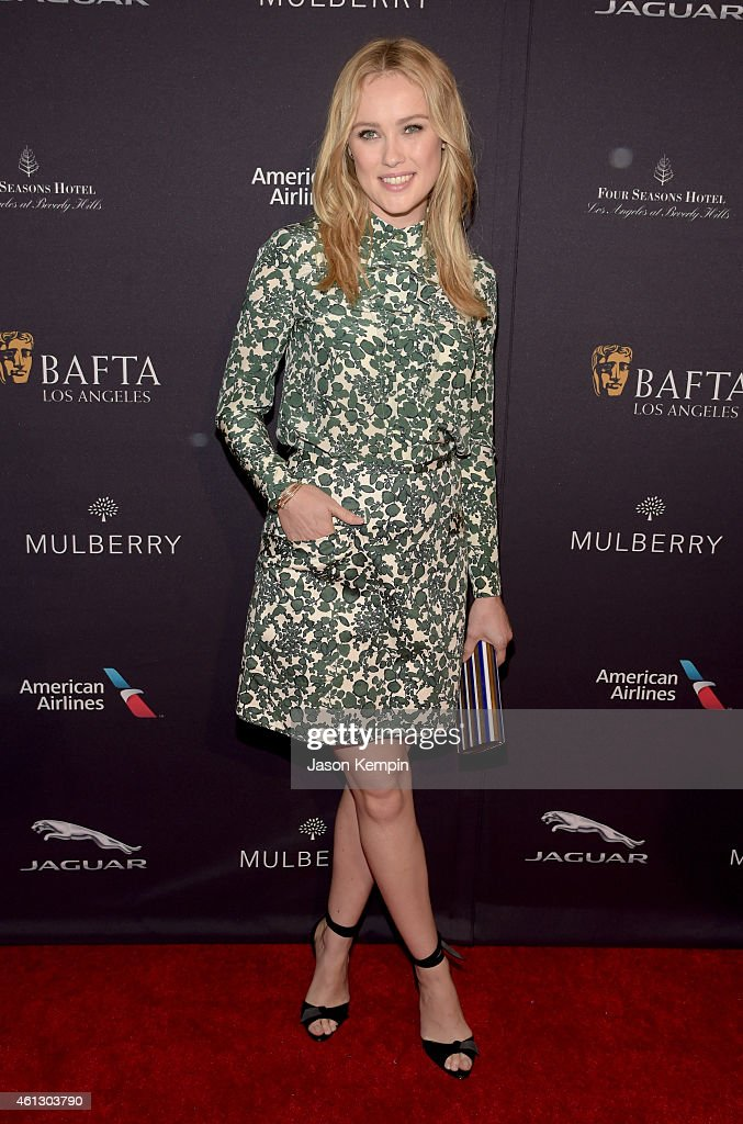 Actress <a gi-track='captionPersonalityLinkClicked' href=/galleries/search?phrase=Hannah+New&family=editorial&specificpeople=8671957 ng-click='$event.stopPropagation()'>Hannah New</a> attends the BAFTA Los Angeles Tea Party at The Four Seasons Hotel Los Angeles At Beverly Hills on January 10, 2015 in Los Angeles, California.