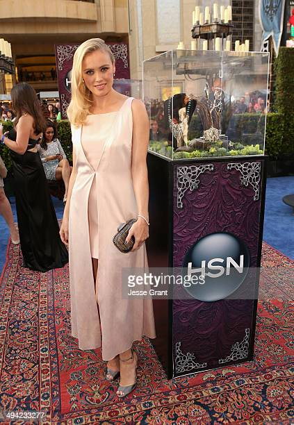 Actress Hannah New attends the World Premiere Party For 'Maleficent' sponsored by HSN at the El Capitan Theatre on May 28 2014 in Hollywood California