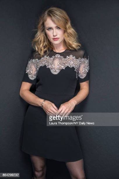 Actress Hannah New photographed for NY Daily News on October 7 in New York City