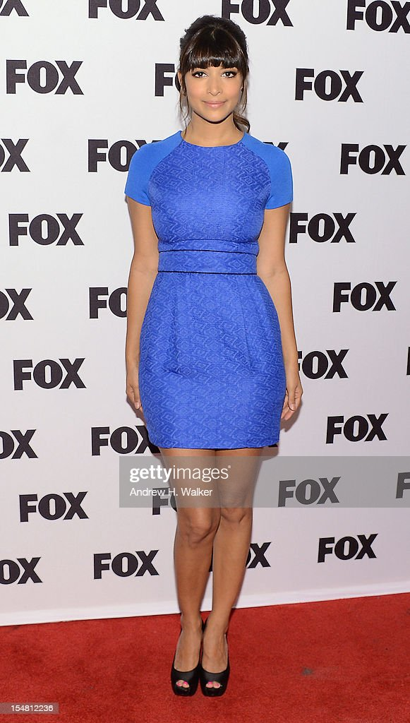 Actress Hannah Simone attends a Salute To FOX Comedy on October 26, 2012 in New York City.
