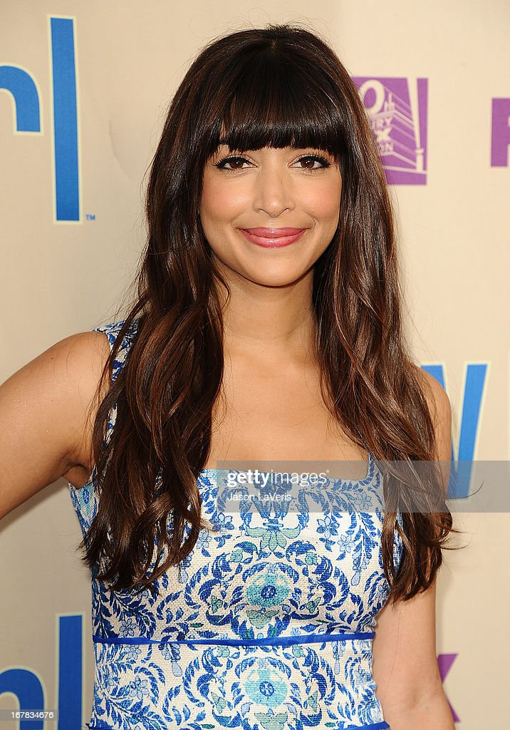 Actress Hannah Simone attends a screening and Q&A of 'New Girl' at Leonard H. Goldenson Theatre on April 30, 2013 in North Hollywood, California.