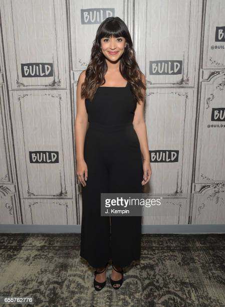 Actress Hannah Simone attends Build Series at Build Studio on March 20 2017 in New York City