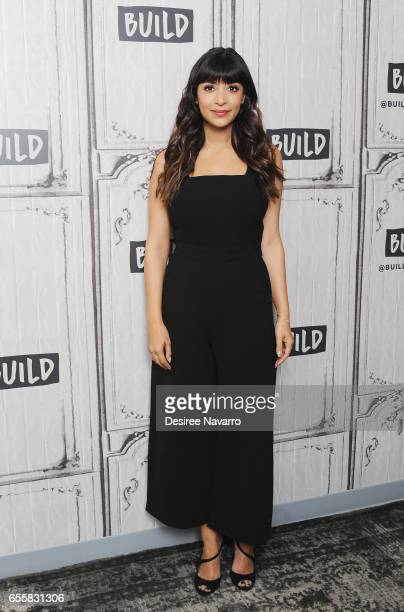 Actress Hannah Simone attends Build Series to discuss 'Kicking Screaming' at Build Studio on March 20 2017 in New York City