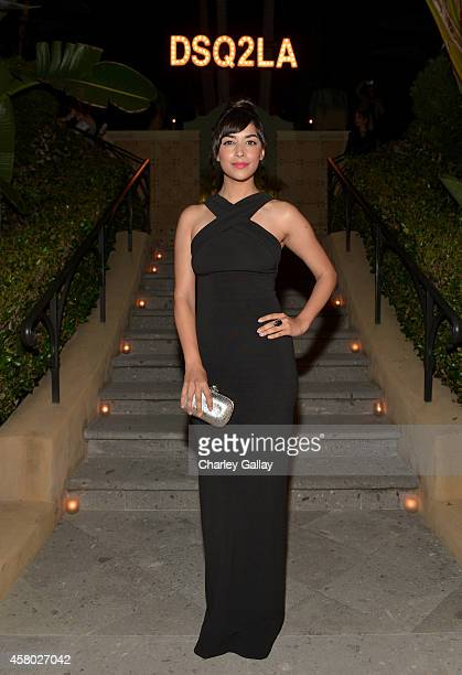 Actress Hannah Simone attends Dsquared2 celebrates first boutique in the USA with Pommery Champagne on October 28 2014 in Los Angeles California