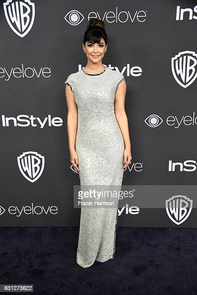 Actress Hannah Simone attends the 18th Annual PostGolden Globes Party hosted by Warner Bros Pictures and InStyle at The Beverly Hilton Hotel on...