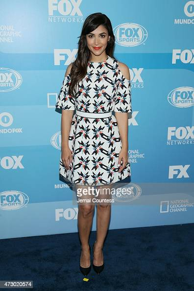 Actress Hannah Simone attends the 2015 FOX programming presentation at Wollman Rink in Central Park on May 11 2015 in New York City