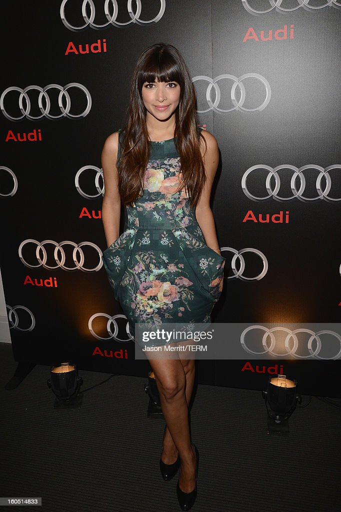 Actress Hannah Simone attends the Audi Forum New Orleans at the Ogden Museum of Southern Art on February 1, 2013 in New Orleans, Louisiana.