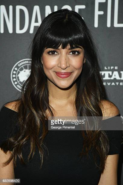 Actress Hannah Simone attends the 'Band Aid' Premiere at Eccles Center Theatre on January 24 2017 in Park City Utah