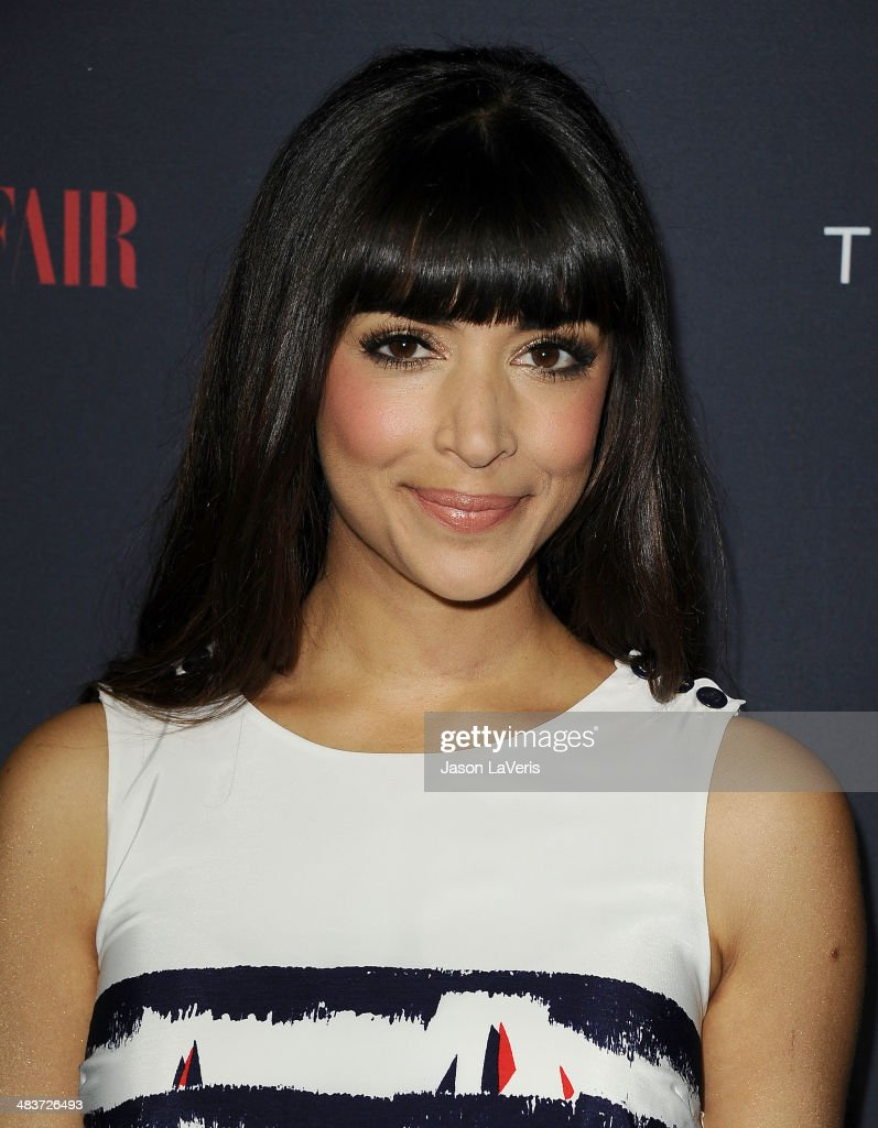 Actress Hannah Simone attends the debut of Tommy Hilfiger's Capsule Collection at The London Hotel on April 9, 2014 in West Hollywood, California.