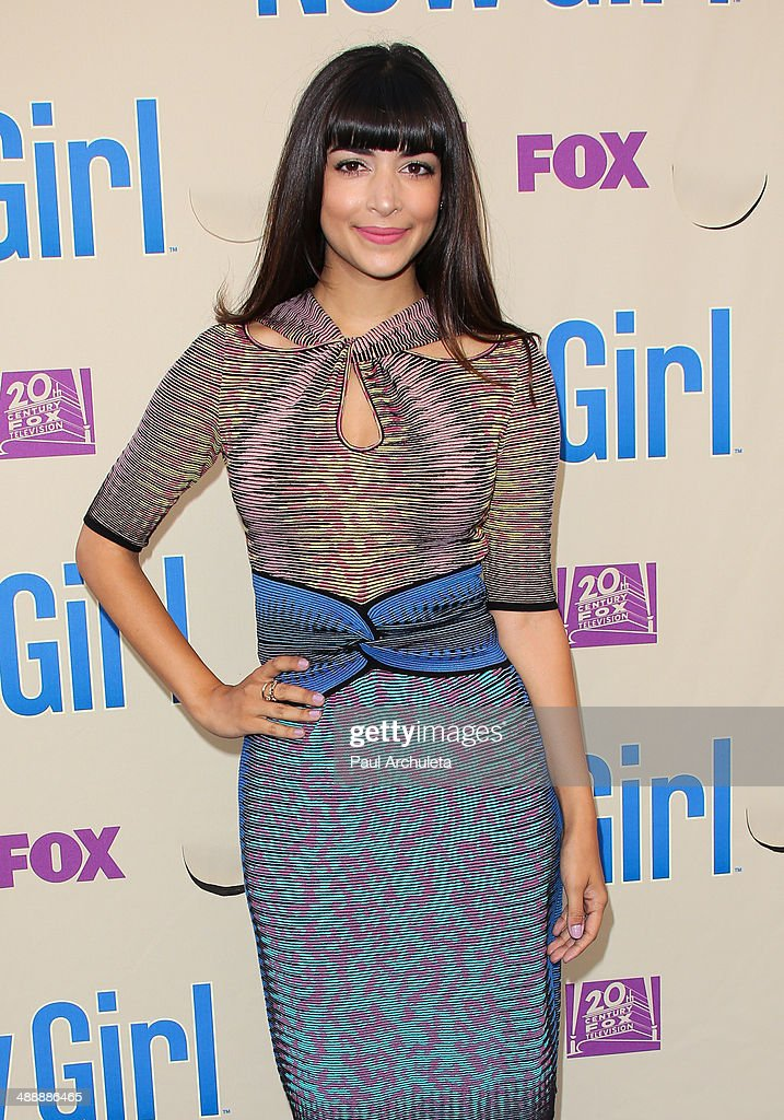 Actress Hannah Simone attends the 'New Girl' season 3 screening and cast Q&A at Zanuck Theater at 20th Century Fox Lot on May 8, 2014 in Los Angeles, California.
