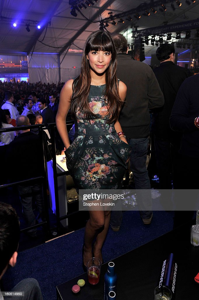 Actress Hannah Simone attends the Rolling Stone LIVE party held at the Bud Light Hotel on February 1, 2013 in New Orleans, Louisiana.