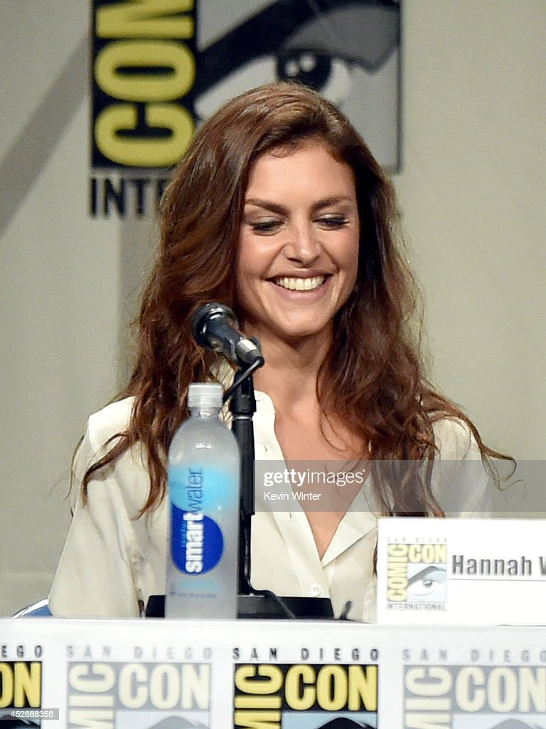 Actress Hannah Ware attends the 20th Century Fox presentation during Comic-Con International 2014 at San Diego Convention Center on July 25, 2014 in San Diego, California.
