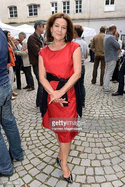 Actress Hannelore Elsner attends the FFF Reception during the Munich Film Festival 2013 at the Praterinsel on July 4 2013 in Munich Germany