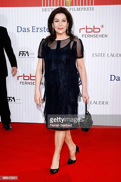 Actress Hannelore Elsner attends the German film award at Friedrichstadtpalast on April 23 2010 in Berlin Germany