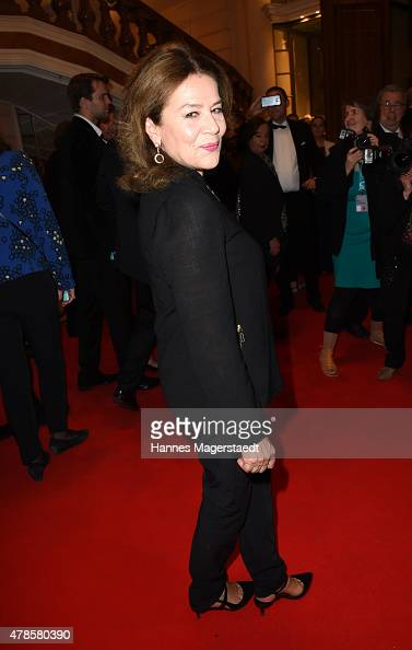 Actress Hannelore Elsner attends the Opening Night of the Munich Film Festival 2015 at Bayerischer Hof on June 25 2015 in Munich Germany