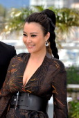 Actress Hao Lei attends the 'Mystery' photocall during the 65th Annual Cannes Film Festival at Palais des Festivals on May 17 2012 in Cannes France