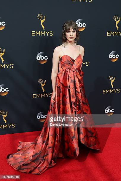 Actress Hari Nef arrives at the 68th Annual Primetime Emmy Awards at the Microsoft Theater on September 18 2016 in Los Angeles California