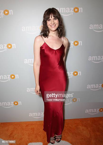 Actress Hari Nef attends Amazon's Emmy Celebration at Sunset Tower Hotel West Hollywood on September 18 2016 in West Hollywood California