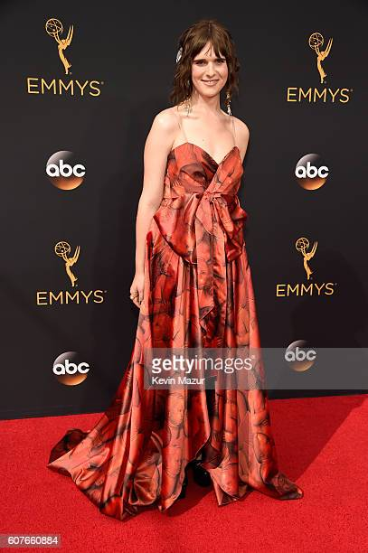 Actress Hari Nef attends the 68th Annual Primetime Emmy Awards at Microsoft Theater on September 18 2016 in Los Angeles California