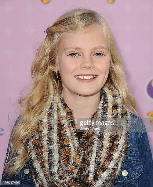 Actress Harley Graham attends the premiere of 'Sofia The First Once Upon a Princess' at Walt Disney Studios on November 10 2012 in Burbank California