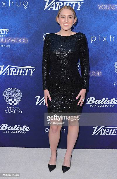 Actress Harley Quinn Smith arrives at Variety's Power Of Young Hollywood at NeueHouse Hollywood on August 16 2016 in Los Angeles California