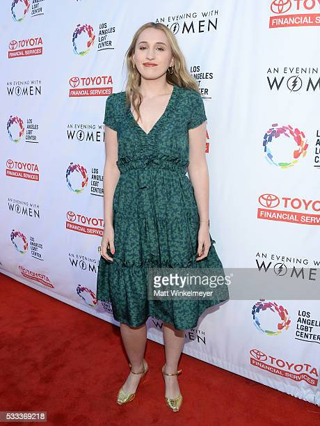 Actress Harley Quinn Smith attends An Evening with Women benefiting the Los Angeles LGBT Center at the Hollywood Palladium on May 21 2016 in Los...