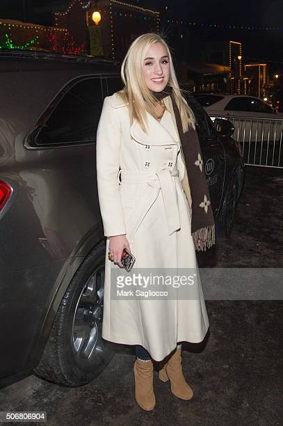 Actress Harley Quinn Smith is seen around town at the Sundance Film Festival on January 25 2016 in Park City Utah