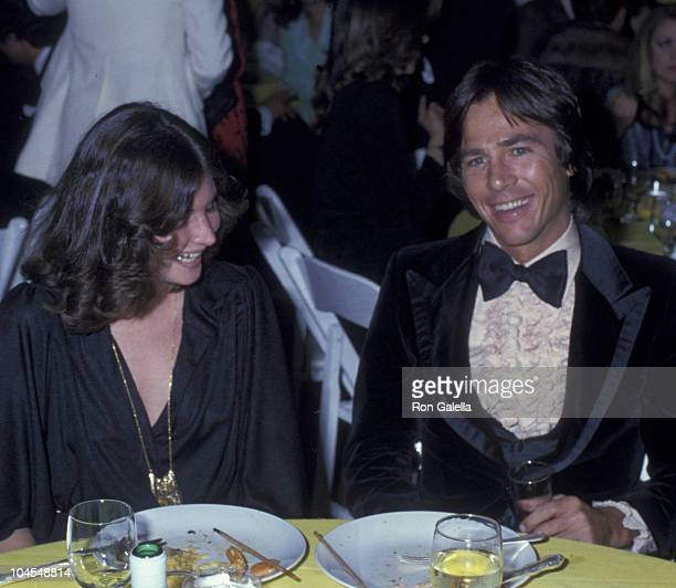 Actress Harriet Ikenson and actor Richard Hatch attend 36th Annual Golden Globe Awards on January 27 1979 at the Beverly Hilton Hotel in Beverly...