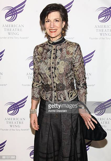 Actress Harriet Walter attends the American Theatre Wing's 2009 Spring Gala at Cipriani 42nd Street on June 1 2009 in New York City