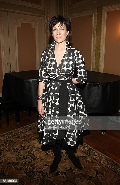 Actress Harriet Walter attends the 'Mary Stuart' Broadway photo call at the Bernard B Jacobs Room at the Sardi's Building on March 16 2009 in New...