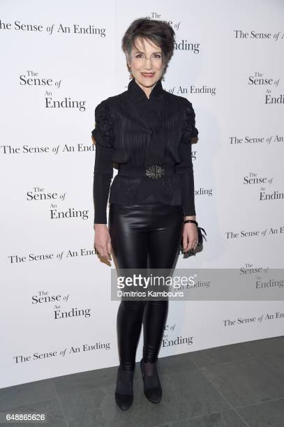 Actress Harriet Walter attends 'The Sense Of An Ending' New York Screening at The Museum of Modern Art on March 6 2017 in New York City