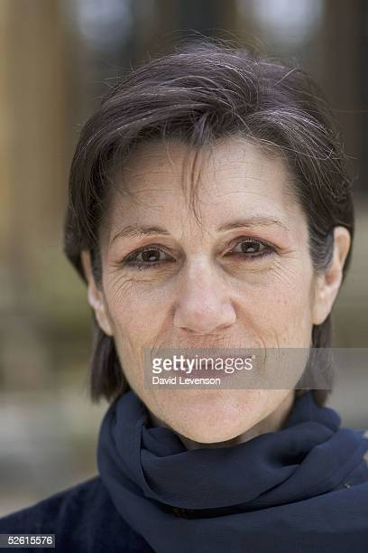 Actress Harriet Walter poses for a portrait at the annual 'Sunday Times Oxford Literary Festival' held at the Oxford Union on April 11 2005 in Oxford...