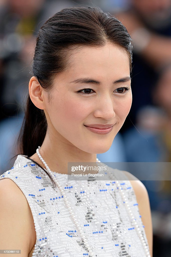 Actress Haruka Ayase attends a photocall for 'Umimachi ...