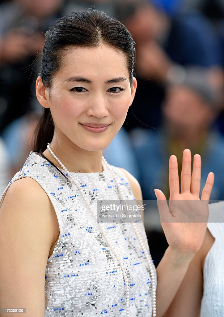 Actress Haruka Ayase attends a photocall for 'Umimachi Diary' ('Our Little Sister') during the 68th annual Cannes Film Festival on May 14, 2015 in Cannes, France.